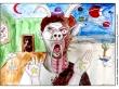 LK Q2, Kolorierte Porträtzeichnung, 2_800